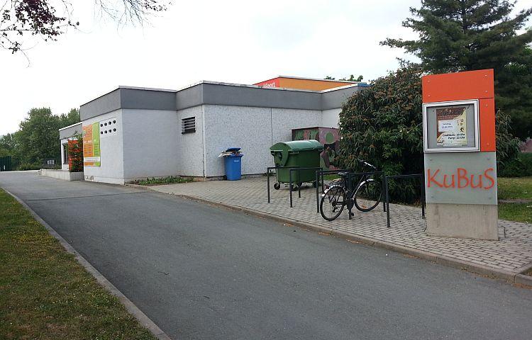 Jena: Beach-Volleyballanlage am Kubus in Lobeda-West jetzt gesperrt