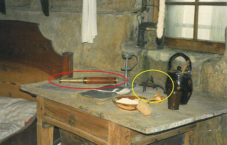 Leuchtenburg: Diebe stahlen Gegenstände aus dem Museum
