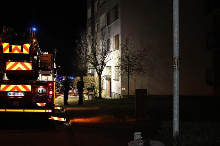Nordhausen: Verdacht auf schwere Brandstiftung, Wohnblock muss evakuiert werden