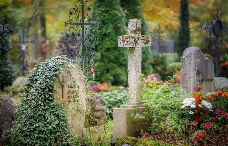 Waltershausen: Vandalismus auf Friedhof