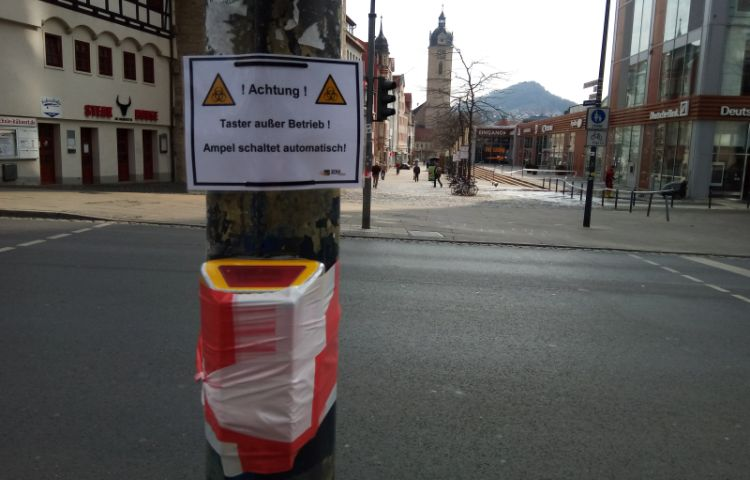 Jena: Allgemeinverfügung wird verlängert