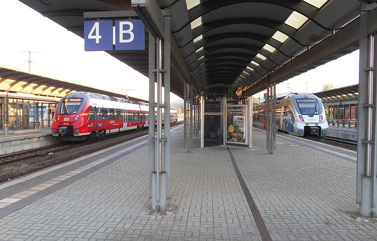 Thüringen: Einschränkungen durch Lokführerstreik bei der Bahn
