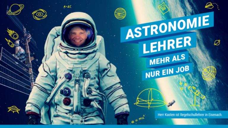 Thüringen: mit neuen Plakatmotiven wird um Lehrkräfte geworben