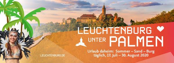 Leuchtenburg unter Palmen: neue Aktion startet Mitte Juli