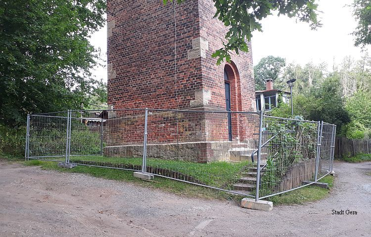 Gera: Fuchsturm ab sofort gesperrt