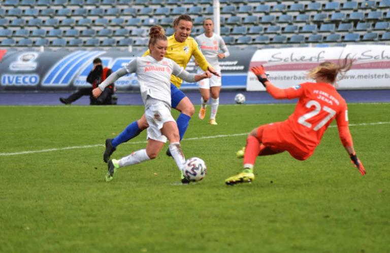 Jena: Aus für die FCC-Frauen in der ersten Pokalrunde
