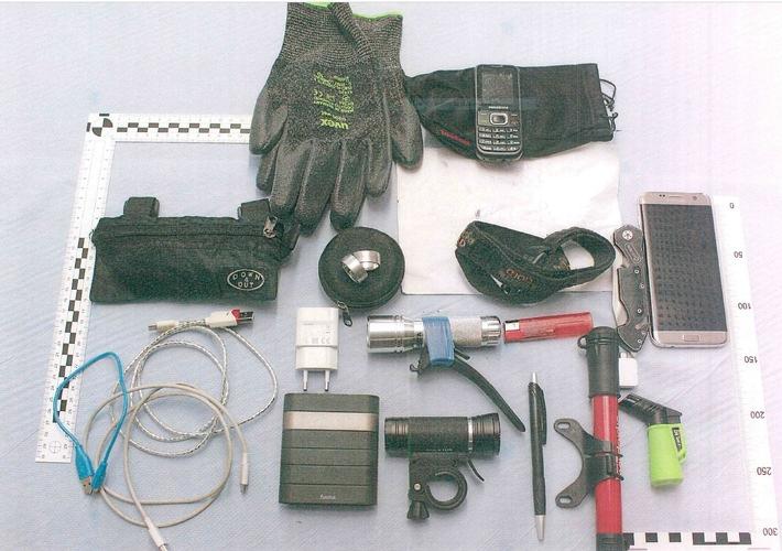 Nordhausen: Einbruchswerkzeug und Rucksack  zurückgelassen – Zeugen gesucht