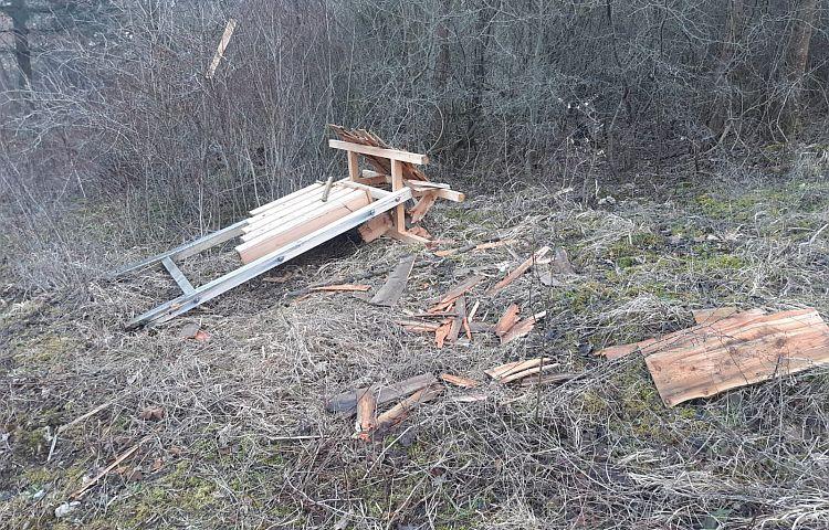 Eisenach: Vandalismus am Waldlehrpfad