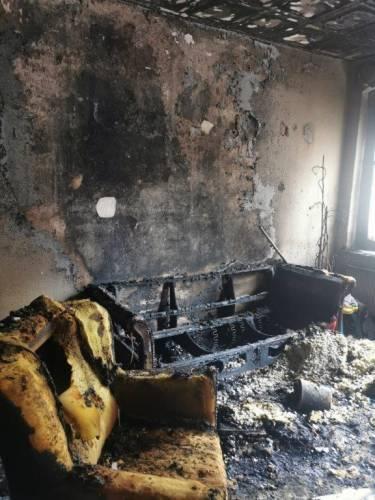 Nordhausen: 5 Menschen, darunter auch ein Kleinkind nach Brand verletzt