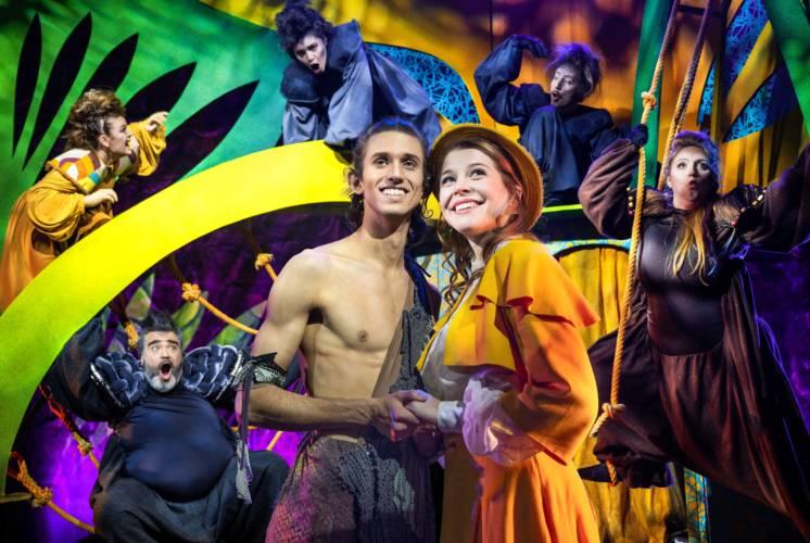 """""""Tarzan – das Musical""""  in Erfurt, Gotha und Mühlhausen"""